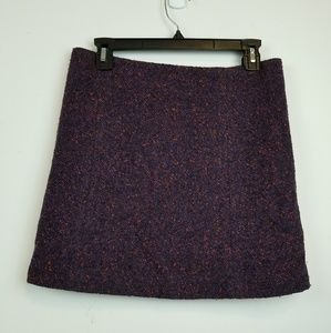 Theory tweet mini skirt size 2